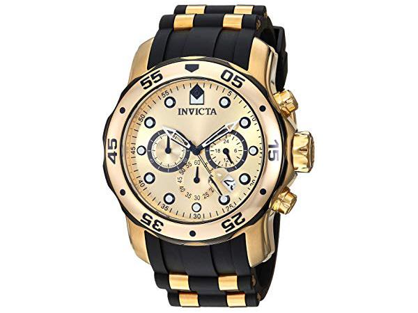 Invicta インビクタ Pro Diver 17885 男性用48mm腕時計・クロノグラフ プロダイバー・シリーズ