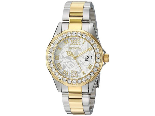 Invicta インビクタ Disney Limited Edition 22871 ミニーマウス女性用38mm腕時計 限定品ディズニー・シリーズ おすすめです♪