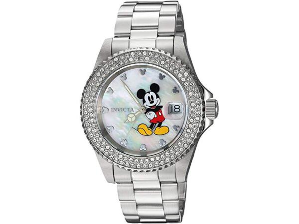 Invicta インビクタ Disney Limited Edition 24750 ミッキーマウス女性用40mm腕時計 限定品ディズニー・シリーズ