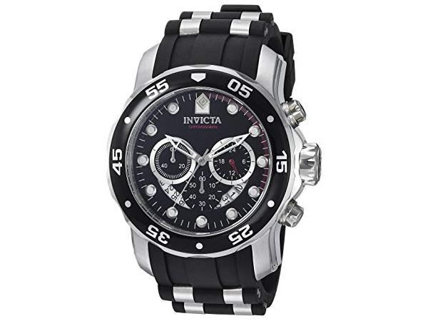 Invicta インビクタ Pro Diver 6977 男性用48mm腕時計・クロノグラフ プロダイバー・シリーズ