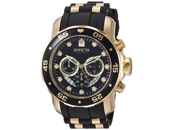 Invicta インビクタ Pro Diver 6981 男性用48mm腕時計・クロノグラフ プロダイバー・シリーズ