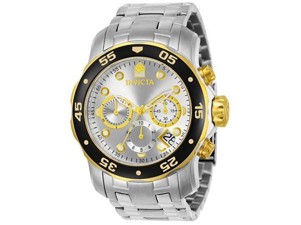 Invicta インビクタ Pro Diver 80040 男性用48mm腕時計・クロノグラフ プロダイバー・シリーズ