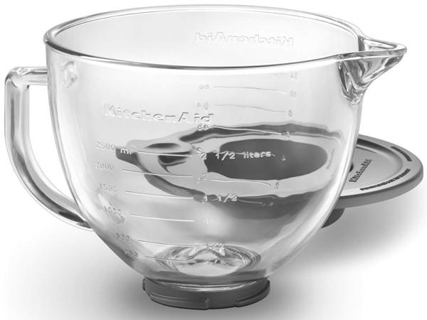 KitchenAid KitchenAid キッチンエイド K5GB チルトヘッド式スタンドミキサー用ガラス製ボウル(透明ガラス) K5GB, 直入町:bd13c115 --- sunward.msk.ru