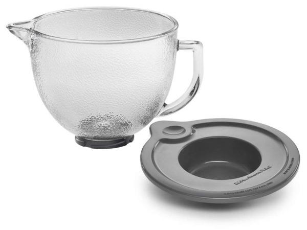 KitchenAid キッチンエイド チルトヘッド式スタンドミキサー用ガラス製ボウル(型ガラス)でこぼこ付き KitchenAid K5GBH K5GBH, クマゲグン:8d1c2fdd --- sunward.msk.ru