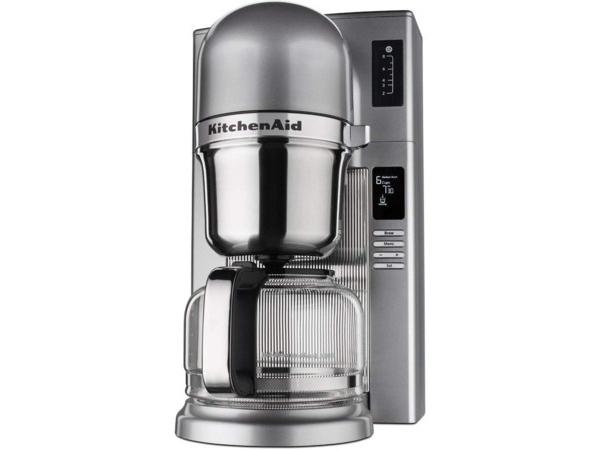 【2年保証】 KitchenAid キッチンエイド コーヒーブリューワー (シルバー) 8カップ・コーヒーメーカー