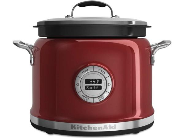 【2年保証】 KitchenAid キッチンエイド マルチクッカー (赤) 多機能スロークッカー