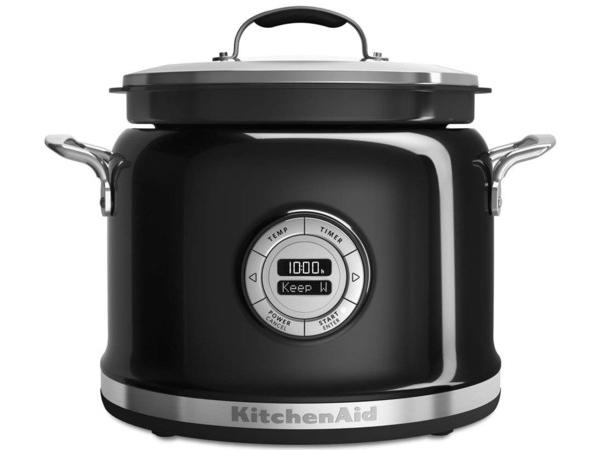 【2年保証】 KitchenAid キッチンエイド マルチクッカー (黒) 多機能スロークッカー