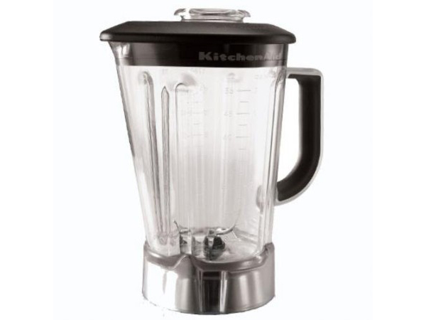 KitchenAid キッチンエイド ブレンダー用プラスティック・ジャー (蓋の色は黒) KSB56POB(適合機種: KSB540,KSB560,KSB580)