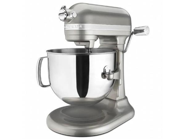 【2-5年保証・日本語訳・変換プラグ付】 KitchenAid キッチンエイド 7QTスタンドミキサー (パールシルバー) プロライン・シリーズ おすすめです♪