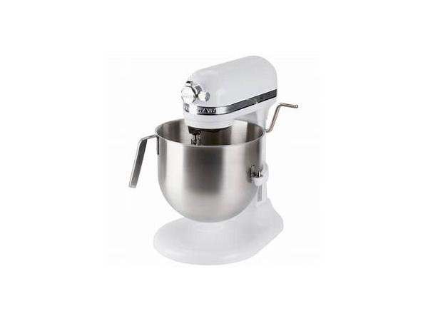 【2-5年保証・日本語訳・変換プラグ付】 KitchenAid キッチンエイド 8QTスタンドミキサー (白) NSF認定コマーシャル・シリーズ おすすめです♪