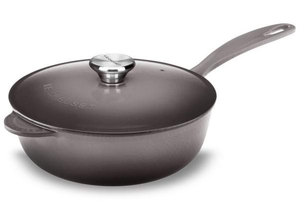 Le Creuset ル・クルーゼ 21cm片手鍋 ソーシエ・ソースパン (オイスターグレー) 2.25QT ルクルーゼ
