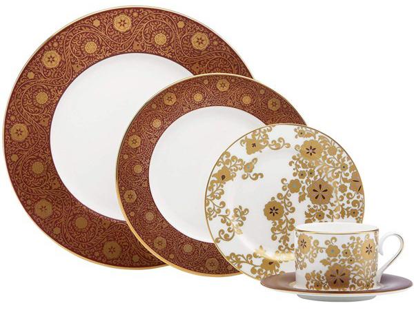 Lenox レノックス ディナーウェアー食器5点セット Floral Majesty