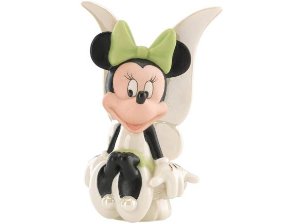 Lenox レノックス ディズニー・フィギュア 妖精に扮したミニー Minnie Fairy 24Kアクセント白磁フィギュア
