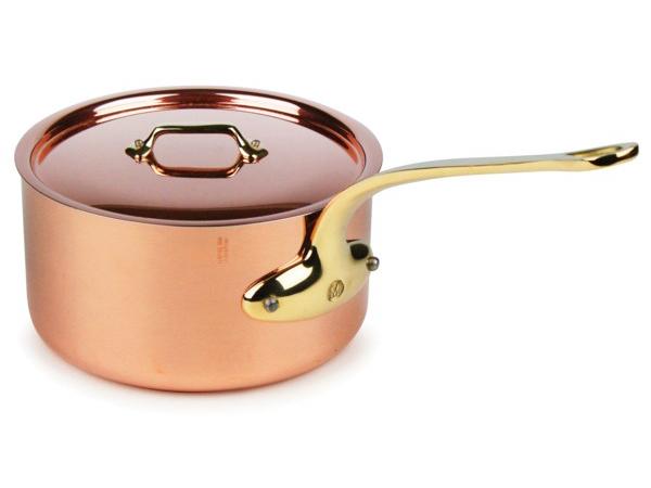 Mauviel ムヴィエール Copper 21cmソースパン 3.4リットル片手鍋 M'heritageシリーズ カッパー(コッパー) M'250b(ブロンズ・ハンドル)