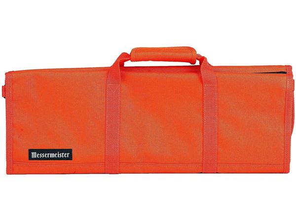 Messermeister メッサーマイスター 12ポケット・ナイフ収納ロール (オレンジ)