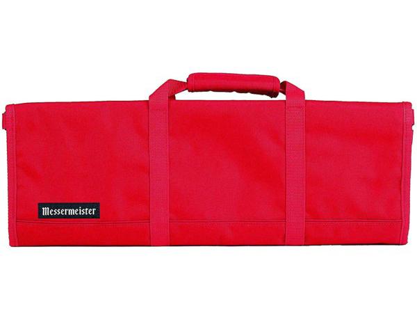 Messermeister メッサーマイスター 12ポケット・ナイフ収納ロール (赤)