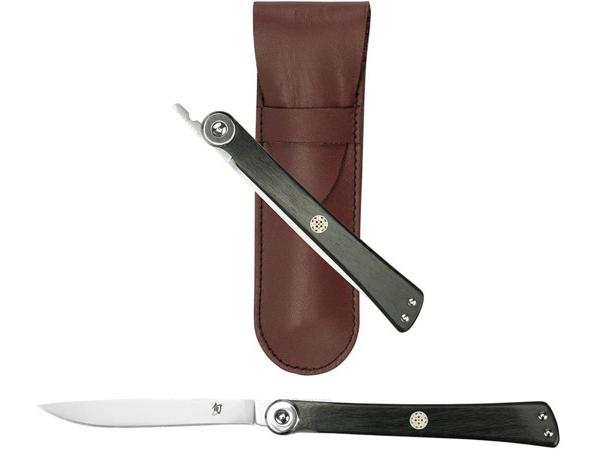 旬 Shun 肥後守 9cm折りたたみ式ナイフ