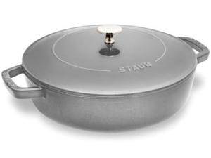 Staub ストウブ 24cmソテーパン (グラファイトグレー) 2.75QT