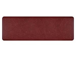 WellnessMats ウェルネス・マット Bella 抗疲労キッチンマット(コーラル) 約180×60cm Motif Collection シリーズ
