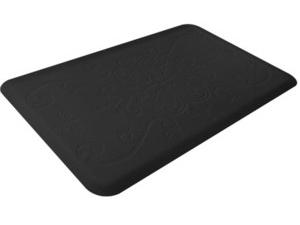 WellnessMats ウェルネス・マット Entwine 抗疲労キッチンマット(ブラック) 約90×60cmMotif Collection シリーズ