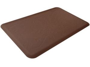 WellnessMats ウェルネス・マット Entwine 抗疲労キッチンマット(ブラウン) 約90×60cmMotif Collection シリーズ