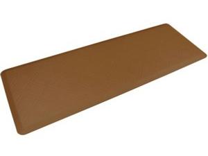 WellnessMats ウェルネス・マット Moire 抗疲労キッチンマット(タン) 約180×60cmMotif Collection シリーズ