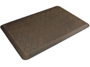 WellnessMats ウェルネス・マット Trellis 抗疲労キッチンマット(ダークブラウン) 約90×60cmMotif Collection シリーズ