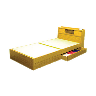 畳ベッド(セミダブル) ブラウン A151-50SD
