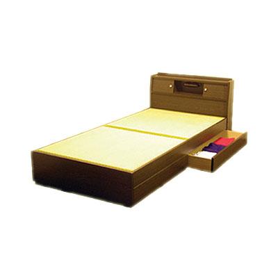 畳ベッド(セミダブル)ダークブラウン