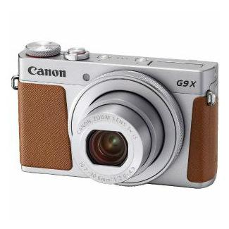【Canon/キャノン】コンパクトデジタルカメラ PowerShot(パワーショット) G9 X Mark II シルバー