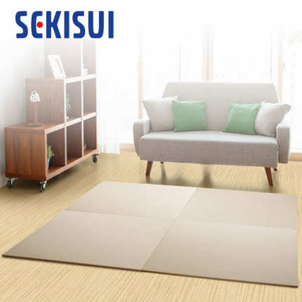 フローリングに置くだけで さっと畳空間に SEKISUI セキスイ 美草 日本製 フロア畳 置き畳 日本アトピー協会推奨品 モカベージュ 目積 たたみ グッドデザイン賞受賞品 タタミ 新着セール 日本製