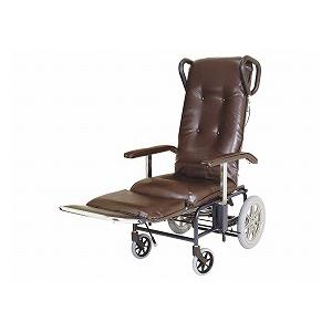 睦三 フルリクライニング介助型車いす /カームV 238【介助式 フルリクライニング 多機能 車椅子 車イス】