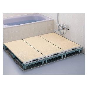 お買い物マラソン ポイント5倍 TOTOエムテック 浴室すのこ カラリ床 直営店 床 EWB474 使い勝手の良い 段差解消 介護 風呂