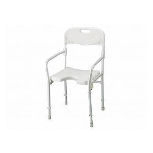 赤井 折り畳みシャワーチェアー 2850 【入浴いす シャワーチェア 介護 椅子 風呂 シャワーベンチ 浴槽台】