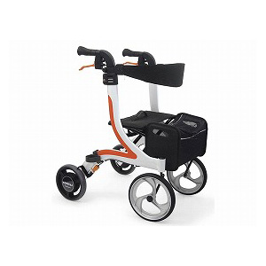 カワムラサイクル 四輪歩行器(抑速ブレーキ内蔵ホイール)KW41