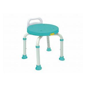 島製作所 シャワーチェア 楽湯くるまるコンパクト 7450【入浴いす シャワーチェア 介護 椅子 風呂 シャワーベンチ 浴槽台】