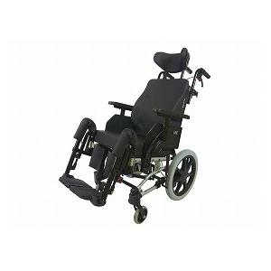 ラックヘルスケア ネッティem 背張調整無【介助式 リクライニング ティルト 多機能 車椅子 車イス】