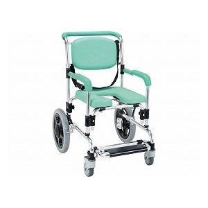 マキテック らくらく浴用キャリー(肘固定型) YC-80GR【介護 お風呂 シャワーキャリー 入浴 車イス 椅子】