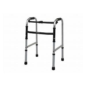 シンエンス スリムフレームウォーカー固定型 WFS-4968【手押し 車 シルバーカー 老人 自立 介護 介護用品 福祉用具 歩行関連 歩行器 四輪 折りたたみ式】