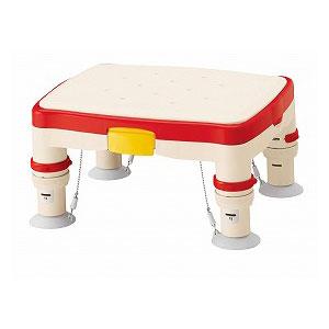 アロン化成 高さ調節付浴槽台R(ソフトクッション)【介護 椅子 風呂 シャワー チェアー 浴槽台】