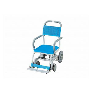 ウチエ シャワーラク(穴無しシート) SWR-101【介護 お風呂 シャワーキャリー 入浴 車イス 椅子】