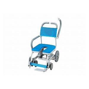 ウチエ シャワーラク(U型シート) SWR-102【介護 お風呂 シャワーキャリー 入浴 車イス 椅子】
