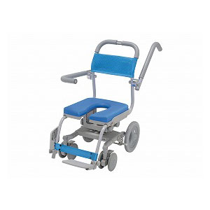 ウチエ くるくるセーフティ KRU-173-SA 穴なしシート【介護 お風呂 シャワーキャリー 入浴 車イス 椅子】