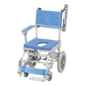 ウチエ シャワースカールD SW6301 O型シート【介護 お風呂 シャワーキャリー 入浴 車イス 椅子】