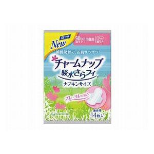 ユニ・チャーム チャームナップ吸水さらフィ ナプキンサイズ中量用羽根つき1ケース(14枚×36袋)