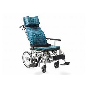 カワムラサイクル ティルト&リクライニング介助型車いす (ライトタイプ)KXL16-42【介助式 リクライニング 多機能 車椅子 車イス】