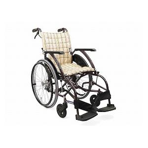 カワムラサイクル WAVIT《ウェイビット》WA22-40S(自走用車いす)【車椅子 車いす 自走用 軽量 折りたたみ アルミ】