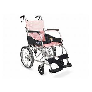 カワムラサイクル ふわりす(エアタイヤ軽量仕様) KF16-40SB【車椅子 車いす 介助用 軽量 折りたたみ アルミ】