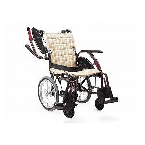 カワムラサイクル WAVIT-Plus ウェイビットプラス WAP22-40S(自走用車いす)