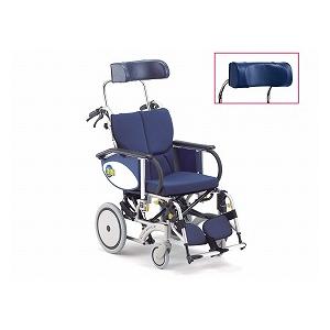 松永製作所 ティルト&リクライニング介助型車いす オアシス 介助タイプOS-12TR 枕:浅(BJ-B・ストレート)【介助式 リクライニング 多機能 車椅子 車イス】